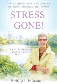 'Stress Gone! How to Identify and Reduce Stress Easily', my latest book now available on Amazon. Complete with exercises, techniques and an audio to help cope with and eradicate stress quickly, easily and effectively. #StressGone! www.Bridget-Edwards.com