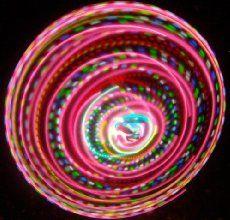 "36"" - 24 Strobing/Color Changing/Solid Color LED Hula Hoop - Bahama Mama"