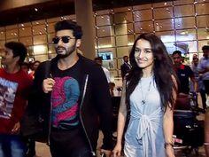 Shraddha Kapoor & Arjun Kapoor are back in India for last schedule of Half Girlfriend.