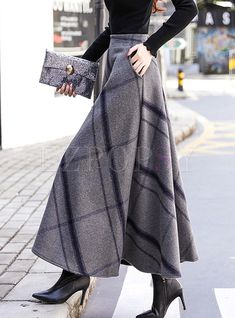 Buy Skirts, Online Shop, Women's Fashion Skirts for Sale - Floryday Modest Fashion, Women's Fashion Dresses, Hijab Fashion, Fashion Clothes, Long Skirt Fashion, Long Skirt Outfits, Apostolic Fashion, Feminine Fashion, Dress Long