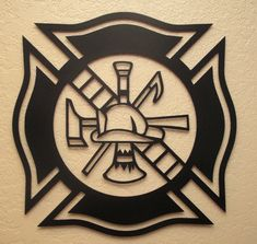 Fireman Maltese Cross by BCMetalCraft on Etsy