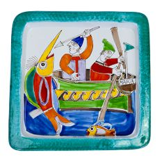Punch Needle, Make Art, Sicily, Lunch Box, Pottery, Ceramics, Watercolors, Bowls, Home Decor