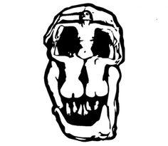 lister skull paintin