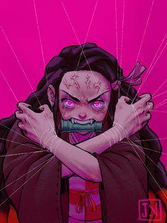 Nezuko Kamado - Kimetsu no Yaiba Demon Slayer by Shoscombe on DeviantArt Otaku Anime, Manga Anime, Anime Art, Demon Slayer, Slayer Anime, Slayer Tattoo, Chibi, Anime Tattoos, Fan Art