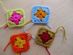 Join Granny Squares as you go! How to join Granny Squares step by step. Very easy, and the squares lays perfectly flat!