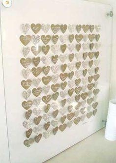 3D Heart Art Guestbook Alternative