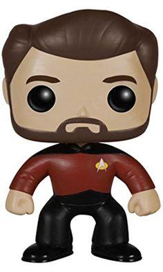 Funko POP TV: Star Trek The Next Generation - Will Riker Action Figure Best Price