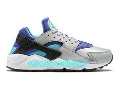4cae1dda137 ... FEMME FILLE Argent Nike Wmns Basket Huarache GS Pas Cher Chaussure Pour  Femme Argent ...