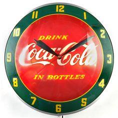 Coca-Cola Double Bubble Clock