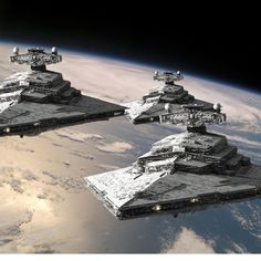 star destroyers on the way...