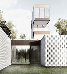 javier galindo of JGCH architecture has proposed a vacation home for a painter and his family