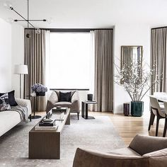 homedecor living room Easily create the perfect living room with these key principles and ideas to Simple Living Room Decor, My Living Room, Living Room Interior, Living Room Furniture, Furniture Sets, Pulaski Furniture, Mid Century Living Room, Interior Decorating, Interior Design
