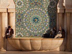 The art of Moroccan zellige. #MoroccanFridays | A Writer's Caravan