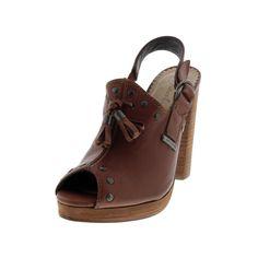 Diesel Womens Cuir Desir D'Aly Leather Mule Slingback Sandals