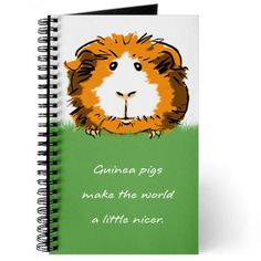 CafePress - Guinea pigs make the world a little nicer Jou... https://www.amazon.com/dp/B00NPAJ7WE/ref=cm_sw_r_pi_dp_x_9MDyybRWY913K