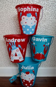 Parade Buckets | DIY July 4th Crafts for Kids