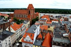 Torun old town - UNESCO heritage site in Poland