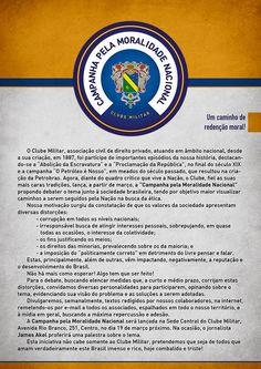 A Casa da Mãe Joana - continuação: CAMPANHA PELA MORALIDADE NACIONAL