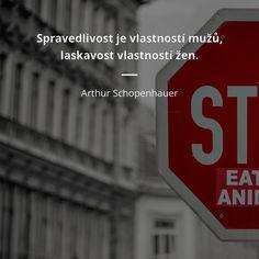 Spravedlivost je vlastností mužů, laskavost vlastností žen. - Arthur Schopenhauer #muži #ženy Motto, Montessori, Company Logo, Celebrity, Logos, Quotes, Inspiration, Author, Quotations