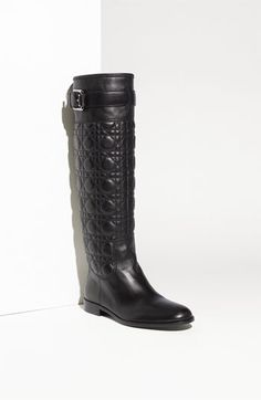 Stunning - Dior Cannage Boot $1200.00, I have these in patent leather, and they rock. Worth every cent.