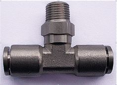 Tube size 1/4-1/2 BSPT thread stainless steel 316 Male branch tee Type pneumatic fitting