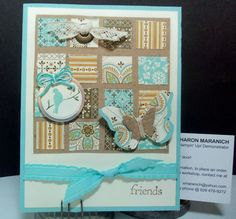 Birthday Card - Stampin' Up products used