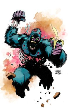 Zombie Gorilla!  By Joseph Cooper