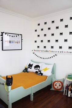 Superhero Bedroom Ideas | Mr Fox