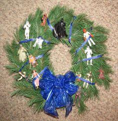 Star Wars Christmas Wreath DIY