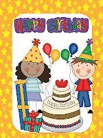 Kindergarten Lifestyle - Birthday game FREEBIE!