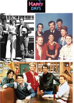 Tv show, Happy Days. I was in love with Fonzie. Ayyyy!!! lol