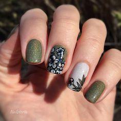 B028 Picture Polish, Stamping Nail Art, Rings For Men, Nails, Green, Finger Nails, Men Rings, Ongles, Nail