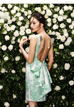 snow-fashion-editorial Photographer Zhang Jingna and stylist Phuong My collaborate for FGR's latest exclusive starring actress Ngo Thanh Van. Putting the spotlight on My's holiday 2015 collection.