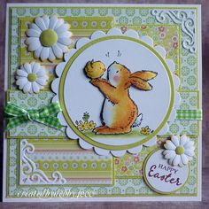 A Scrapjourney: Penny Black Penny Black Cards, Penny Black Stamps, Card Basket, Easter Projects, Easter Art, Beautiful Handmade Cards, Stamping Up Cards, Vintage Easter, Pretty Cards