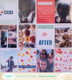 Scrapbook Circle » Ideas » Rebeccas You Are My Favorite Ideas