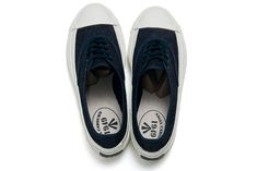 Nigel Cabourn, Latest Sneakers, Men's Style, Deck, Blue And White, Footwear, Slip On, Mens Fashion, Navy