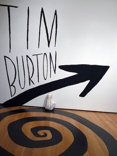 Tim Burton exhibit at MoMA. I missed it--I was too busy to fly up to NY at the time! #art