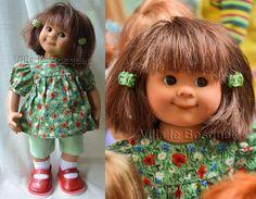 POUPEE ORIGINAL MÜLLER-WICHTEL WILKE - poupée de collection de Rosemarie Müller