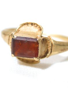 Images of Exceptionally Rare 16th C. Tudor Ring - The Three Graces