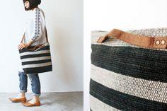 草木染め 手織り裂き織り