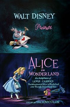 Walt Disney presents: Alice In Wonderland. My daughter and I watched all the time when she was little. Arte Disney, Disney Magic, Disney Art, Alice In Wonderland 1951, Adventures In Wonderland, Lewis Carroll, Chesire Cat, Disney Presents, Alice Madness Returns