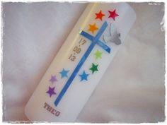 Taufkerzen - Taufkerze - ein Designerstück von Maendels-Candles bei DaWanda