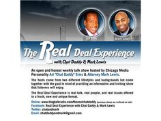 The Real Deal Experience with Chat Daddy & Mark Lewis 07/17 by Chat Daddy 1 | Blog Talk Radio