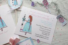 Clara & Nutcracker invitation by Icing Designs