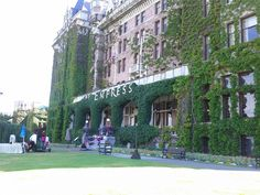 The Empress Hotel - Places to Visit in Victoria BC.