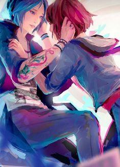 Life Is Strange Wallpaper, Life Is Strange Fanart, Life Is Strange 3, Yuri, Arcadia Bay, Chloe Price, Naruto E Boruto, Weird Art, Cute Anime Couples