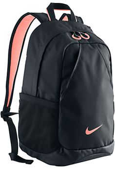 Nike Varsity Backpack, Black/Atomic Pink on shopstyle.co.uk