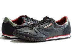 Diesel Men's Fashion Sneakers Spin Black Shoes