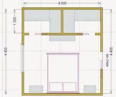 Camera da letto con cabina armadio e bagno | Wnętrza | Pinterest ...