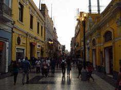 Downtown Lima, Peru. #Travel #Peru